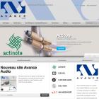 Nouveau site Avance Audio